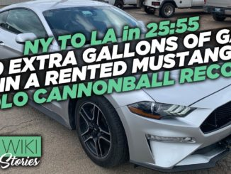 The INSANE Solo Cannonball Record in the World's Fastest Rental Car