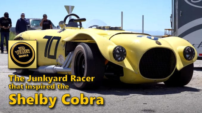 The Junkyard Racer that Inspired the Shelby Cobra ~ Old Yeller