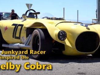 The Junkyard Racer that Inspired the Shelby Cobra