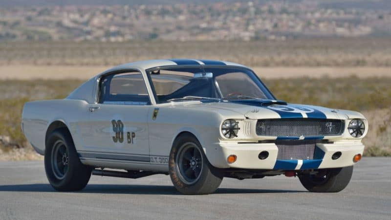 The Ken Miles Flying Mustang 1965 Shelby GT350R Prototype