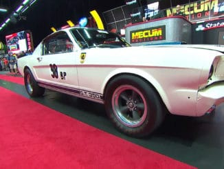 The Ken Miles Flying Mustang sells for $3.85 Million at Mecum Auction