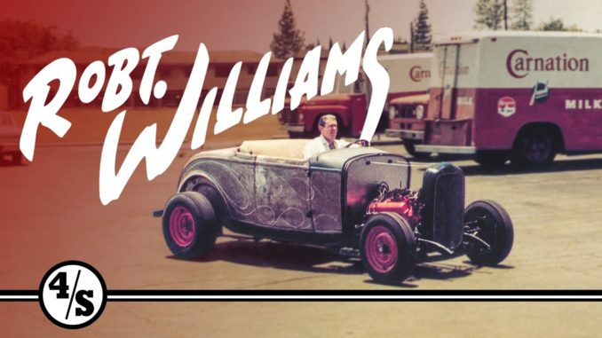 The Man Who Created The First Rat Rod ~ Robert Williams