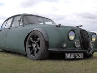 V8 Swapped 1966 Jaguar Mk2