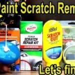 Automotive Paint Scratch Remover Kits