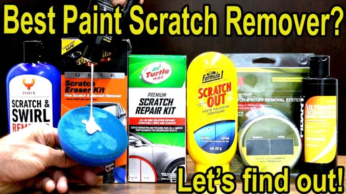 Automotive Paint Scratch Remover Kits