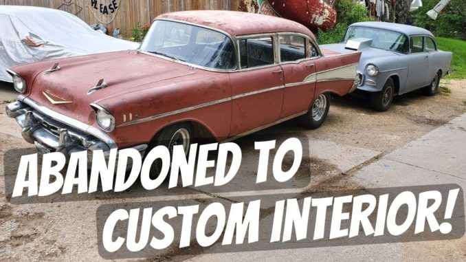 DD Speed Shop's '57 Chevy Bel Air Giveaway Gets Interior, Exhaust