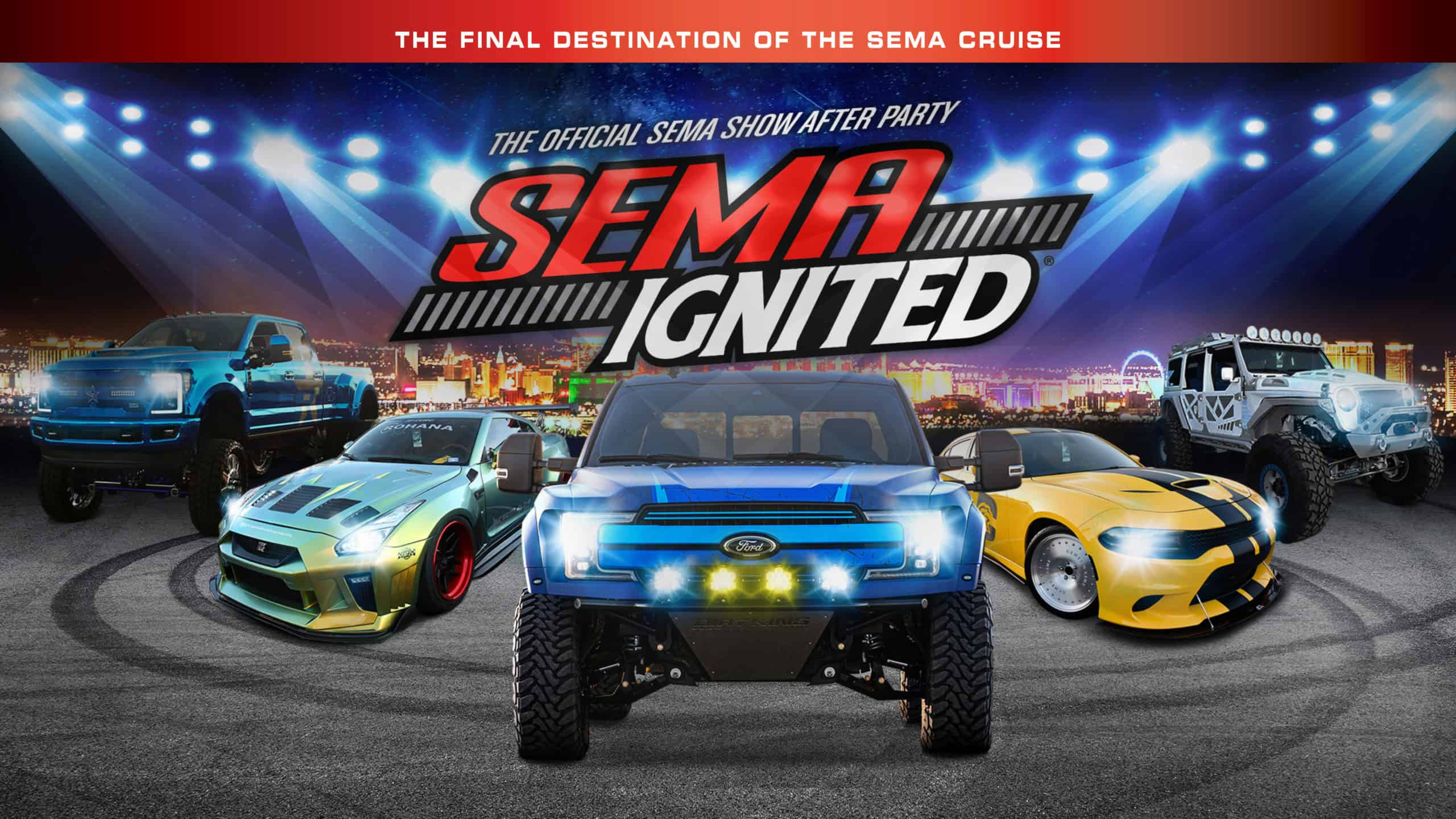 Halloween At Sema 2020 Parties SEMA Ignited 2020 ~ The SEMA Show After Party