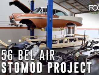 1956 Chevrolet Bel Air Restomod Project by Foose Design