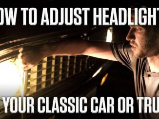 How To Adjust Sealed-Beam Headlights on a Classic Car or Truck