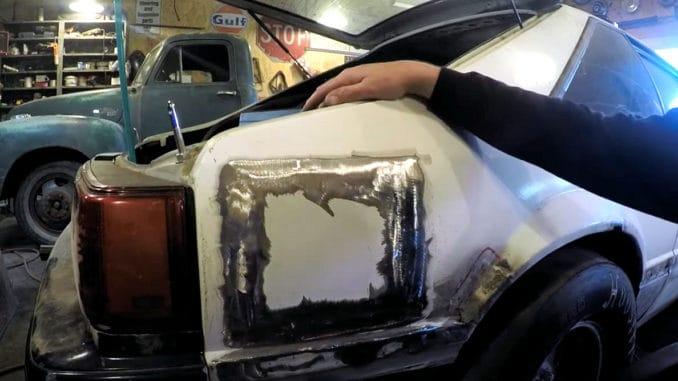 Shaved Fuel Filler Door Done The Easy Way