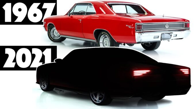 1967 Chevrolet Chevelle Modernized for 2021