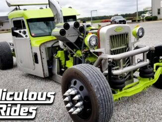 Overkill ~ The Ultimate Peterbilt Rat Rod