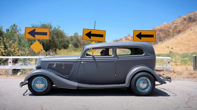 Suzanne Williams' 1934 Chopped Sedan 1