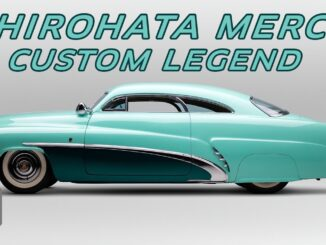 The Hirohata Merc ~ 1951 Mercury Sports Coupe built by George Barris Kustoms