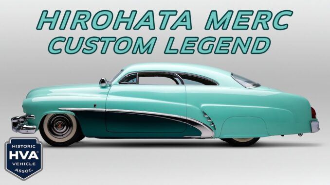 The Hirohata Merc ~ 1951 Mercury Sports Coupe built by George Barris Kustoms