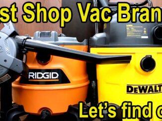 Wet/Dry Shop Vacuums