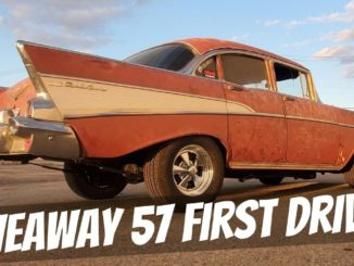 DD Speed Shop '57 Chevy Bel Air First Drive