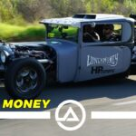 1,000 HP Twin Turbo Dodge Hand Controlled Hot Rod