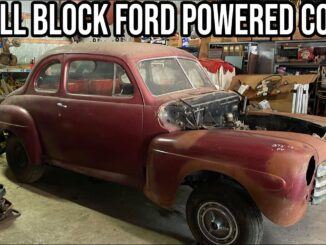 1947 Ford Coupe That Was Street Rodded In the 1970s