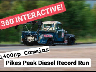 Pikes Peak Record Run Plus 360 Degree Interactive Ride-Along