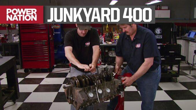Rebuilding A Junkyard Pontiac 400 Engine on a 2000 Budget