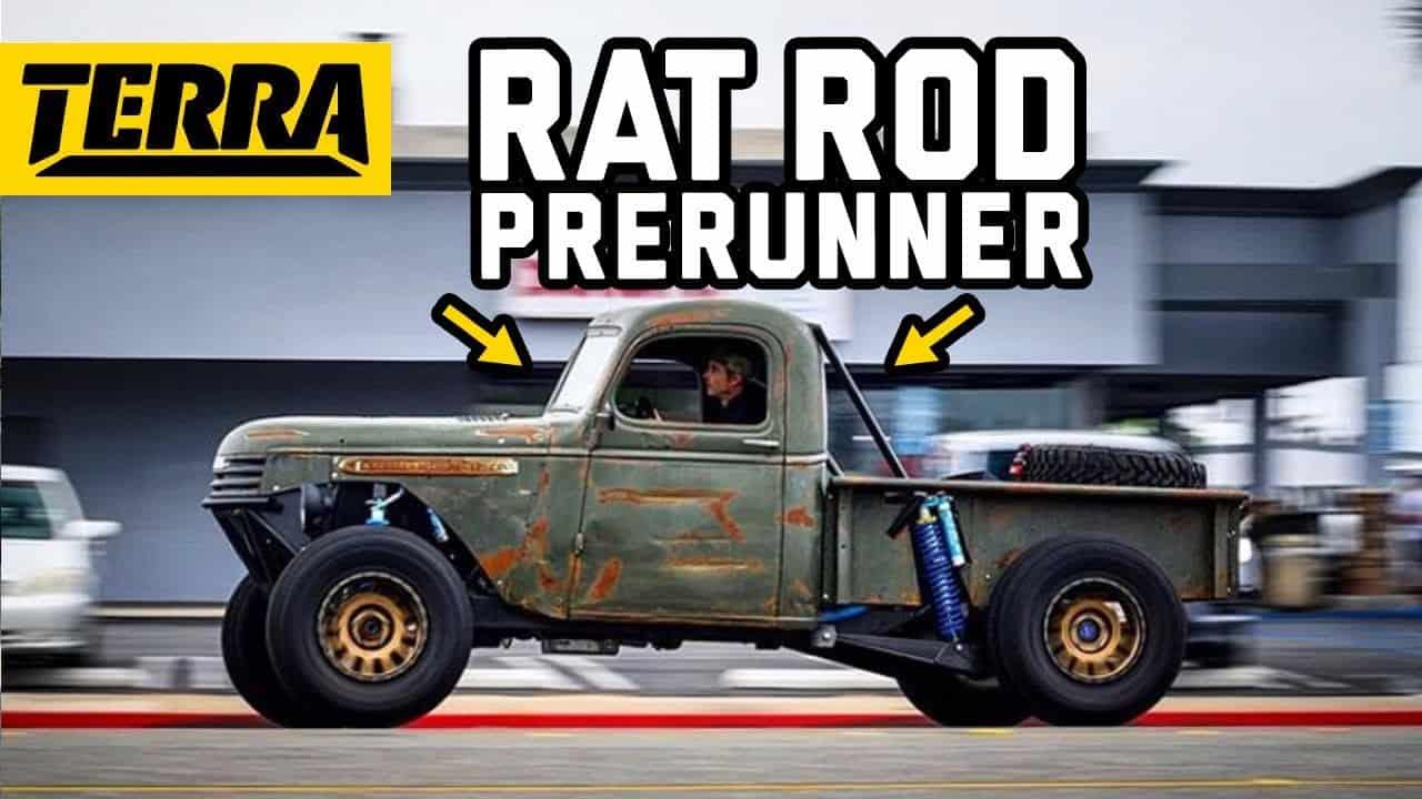 Built To Destroy ~ 1941 General Motors Rat Rod Prerunner