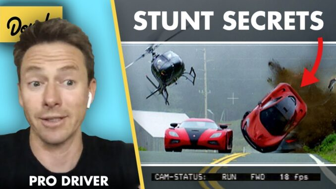 How to Make It as a Hollywood Stunt Driver