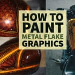 How to Paint Candy Metal Flake Panel Graphics