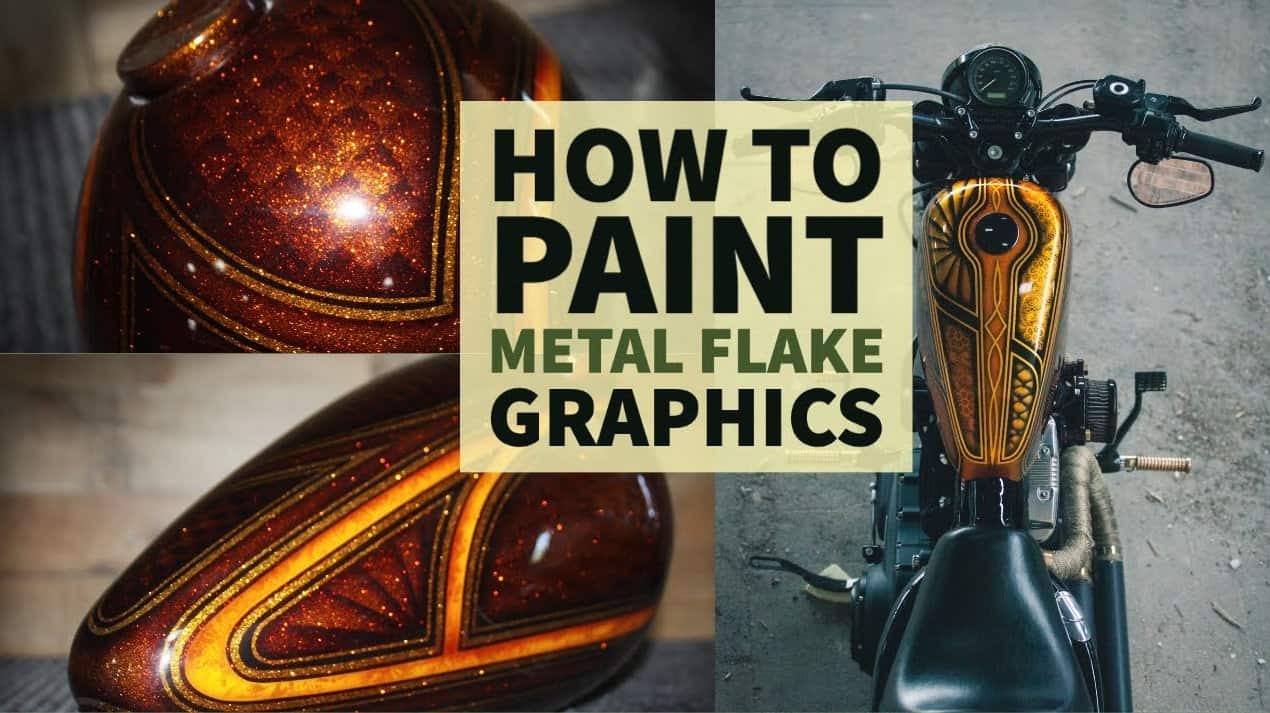 How To Paint Candy Metal-Flake Panel Graphics