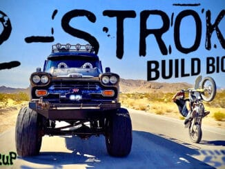 WelderUp's 2-Stroke '58 Chevy Apache Monster Truck Build Bio and Drive