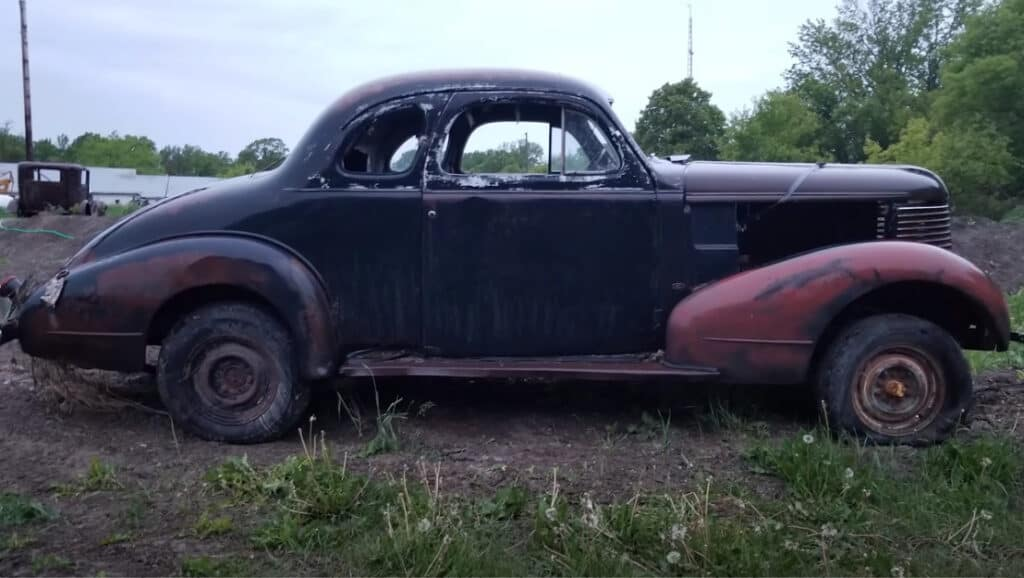 1938 Pontiac Coupe Hot Rod Build ~ Before