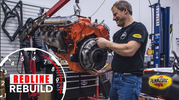 Chevrolet 396 Big Block Engine Rebuild Time-Lapse