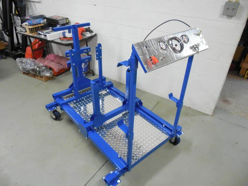 DIY Folding Engine Run Stand Build Plans for Ford, GM, and Mopar