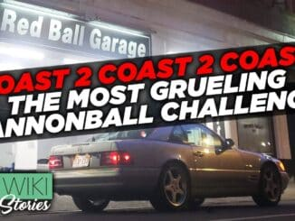 DOUBLE Cannonball Record Set ~ NYC to LA, and Back