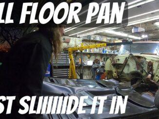 Full Classic Car Floor Pan Replacement