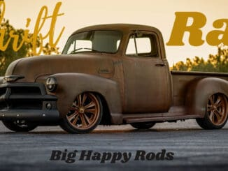 Thrift Rat 1954 Chevy 3100 by Big Happy Rods