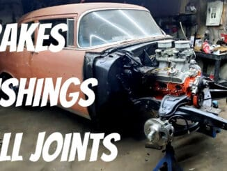 Tri-5 Chevy Front Suspension Rebuild & Brake Upgrade