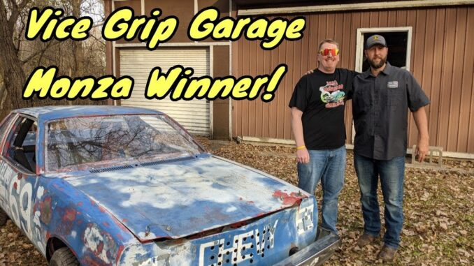 Vice Grip Garage Gave Away a Free Race Car