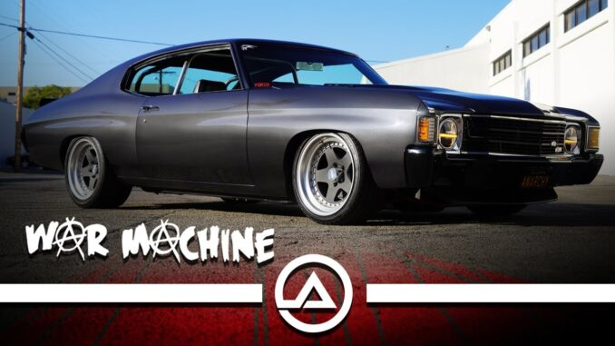 War Machine ~ A 600hp Pro-Touring Chevy Chevelle SS