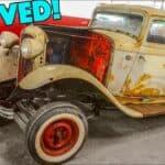 1932 Ford Gasser Barn Find