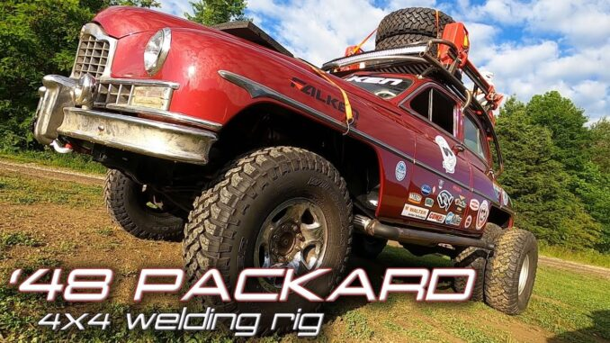 1949 Packard Rescue Pig 4x4 Dually Welding Rig