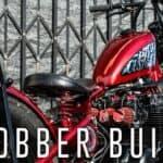 1980 Honda CB650 Custom Bobber Built for $4,000