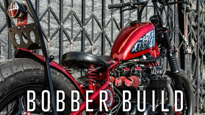 1980 Honda CB650 Custom Bobber Built for $4,000