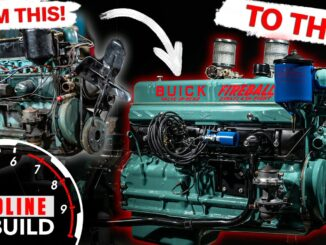 Buick Straight 8 Fireball Engine Rebuild
