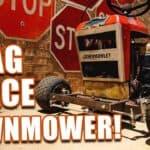 Farrmtruck and ANZs CHEVMOWLET Drag Racing Lawn Mower