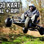 Go Kart Mysteriously Appears
