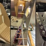 Making Bomber Seats and Frames