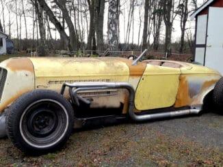 1936 Auburn Speedster Modern Chassis Swap
