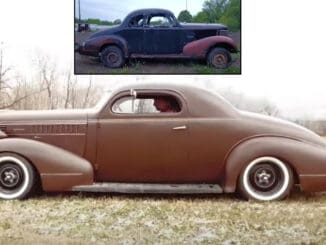 1938 Pontiac Coupe Hot Rod Build ~ Before and After