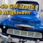 1955-59 GM Truck Panel Alignment